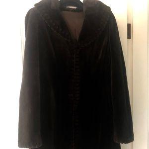 Saga Sheared Mink Coat